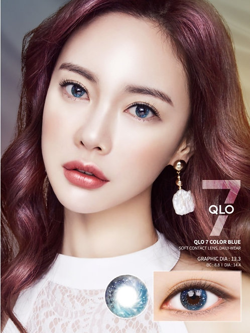 韓國Lens me QLO7 Blue