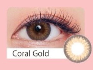 韓國 Olens Blingsome Coral Gold