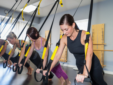TRX Suspension Training & Chasing The Plank