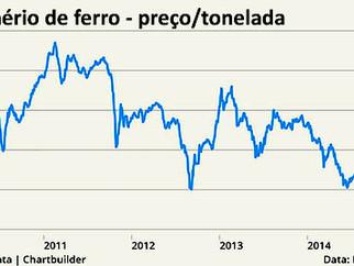 Minério de ferro permanecerá fraco por mais tempo que o previsto, diz CEO da Vedanta