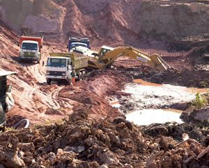 Empresa tem direito a indenizacao por exploracao irregular de jazida