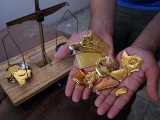 MT é campeão na produção de ouro e diamante