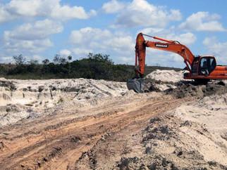 Procuradorias asseguram condenação de particular que extraiu 28 mil m³ de areia em área da União