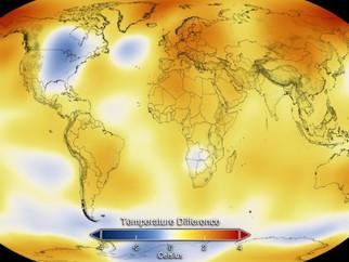 O ano de 2014 foi o mais quente na história moderna