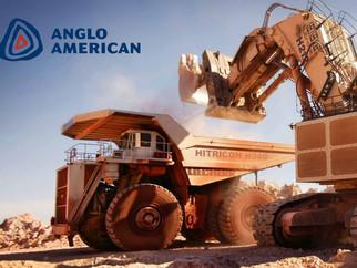 Grupo Anglo American diminui dívida e tem boas perspectivas para negócios no Brasil