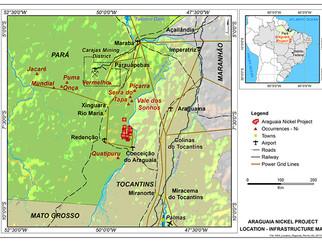 Empresa Britânica desenvolve projeto de Níquel no Brasil