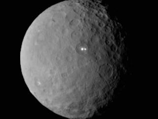 Um mistério brilhante em Ceres