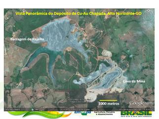 Yamana identifica interseção de 172 metros com 0,46g/t de ouro em Chapada