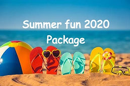 Book your summer fun package