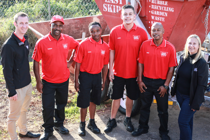 Meet the Easy Skips KZN team
