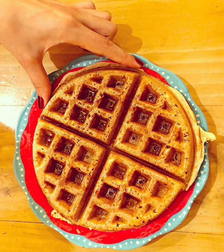 Waffle con Syrup