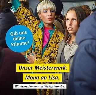 BVG Berlin Anzeige Werbung Anika Geyer
