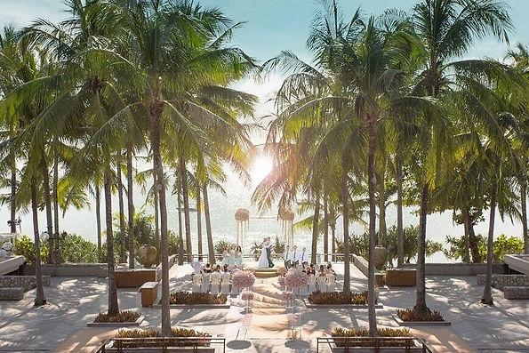 オーシャンビューのリゾートウエディング | Faith Wedding