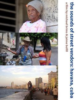 the sounds of street vendors havana, cuba