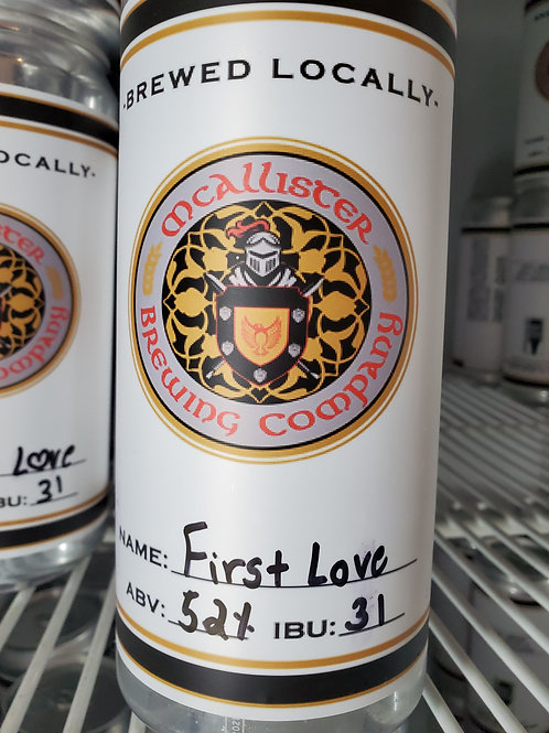 First Love Brown Ale