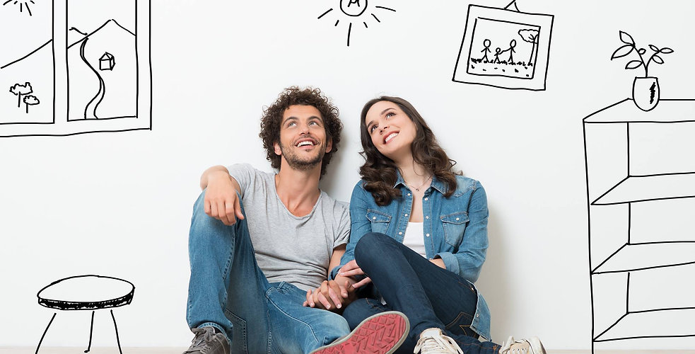 home page image of a happy couple
