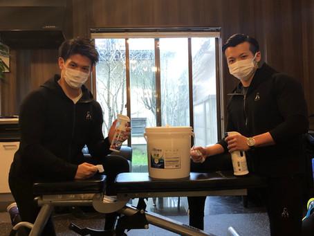 5/3 館内には除菌用のアルコールスプレー・シートを設置しております【新型コロナウィルス感染症対策について】