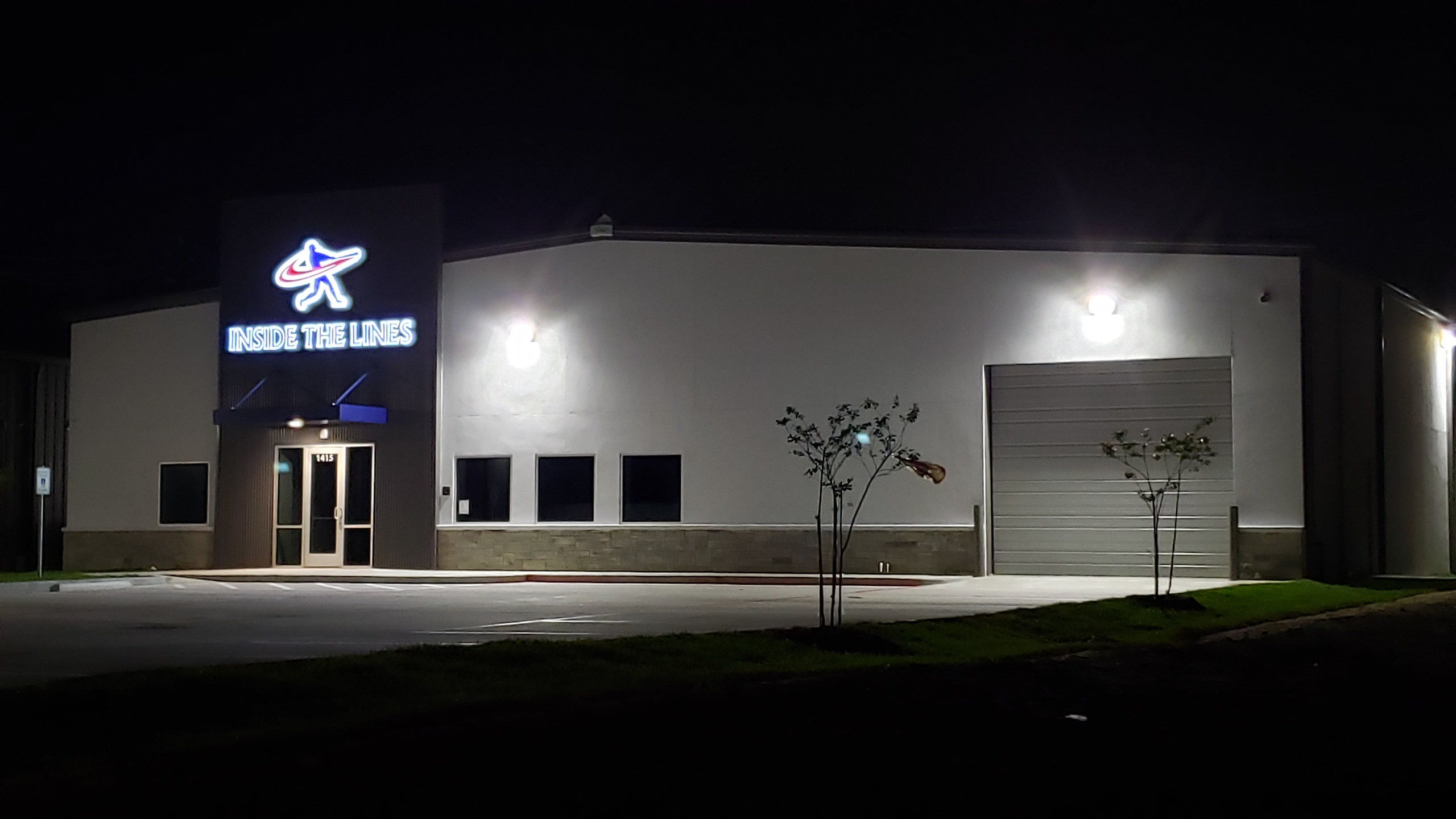 ITLS Exterior (Night)