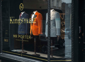 SUITED AND BOOTED WITH THE KINGSMAN
