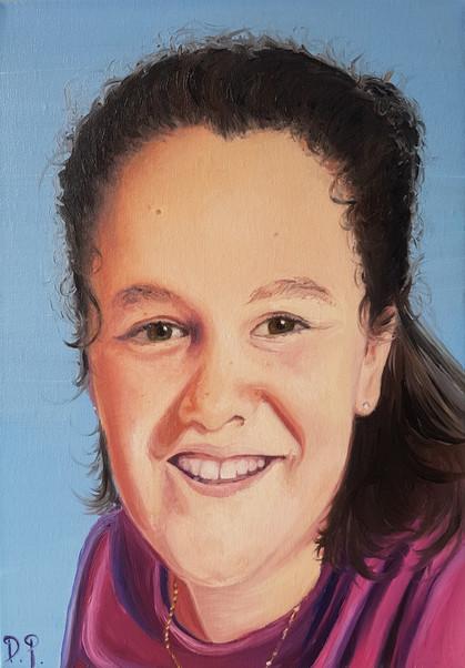 A3 Portrait. Oil on Canvas.