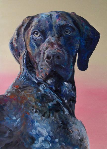 A1 Canvas large commission