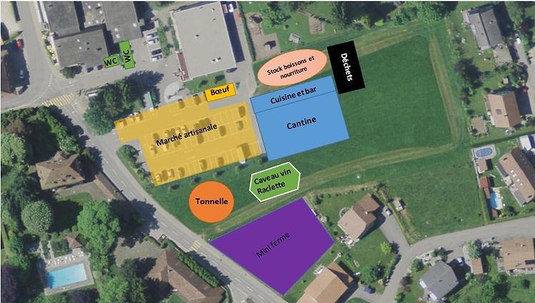 Plan de la dàsalpe d'Ependes Fribourg