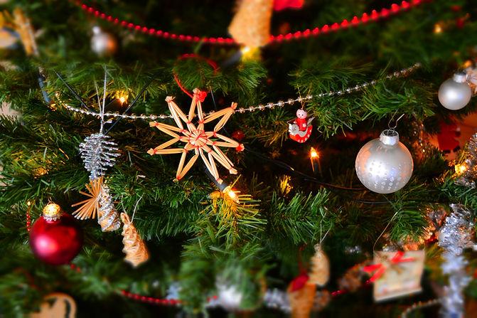 Decorazioni per l'albero di Natale