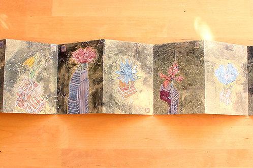 Museum garden postcards
