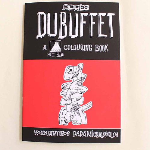 Apres Dubuffet colouring book