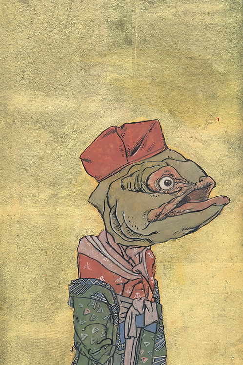 Long Fish Geisha I