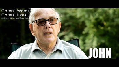 Service User Story: Care for the Carers - `John`.