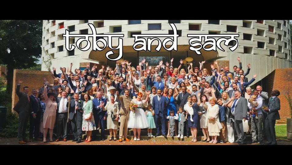 Wedding: `Toby & Sam`