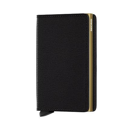 Secrid - Slimwallet Crisple Black/Gold