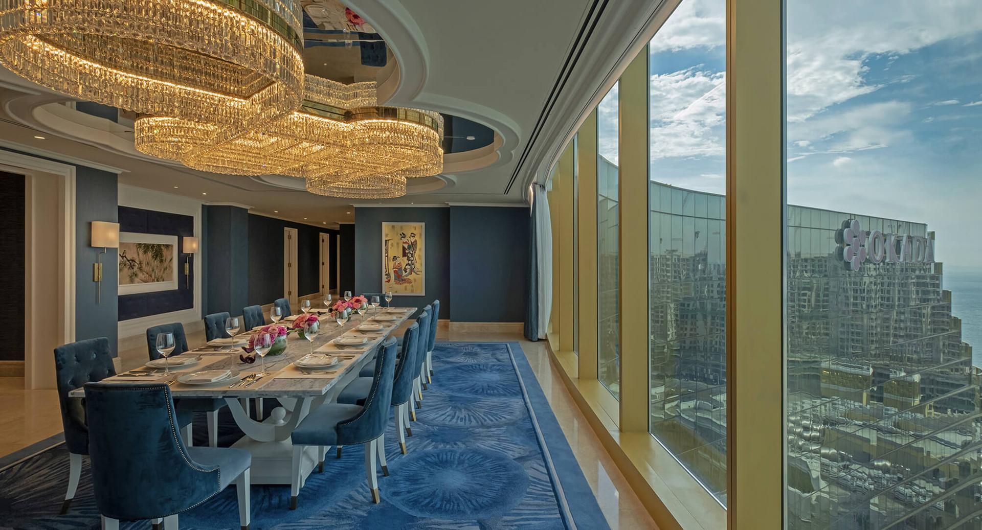 Sapphire Presidential Suite | Celebrity Suite