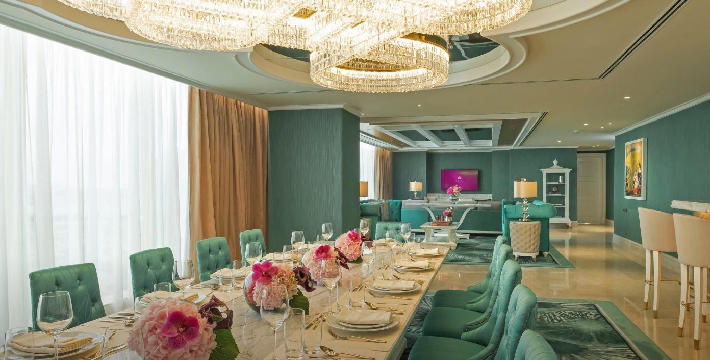 Emerald Presidential Suite | Celebrity Suite