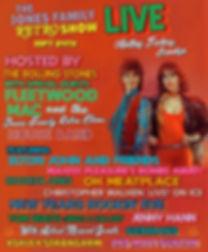 The Jones Family Retro Show 9.24 Flyer S