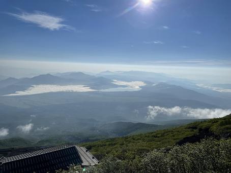 急遽富士山に!