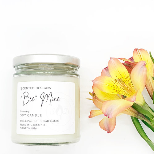 """Bee"" Mine Soy Candle"