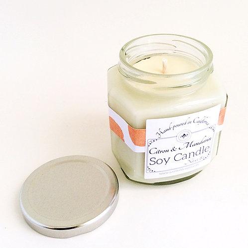 Citron & Mandarin Soy Candle