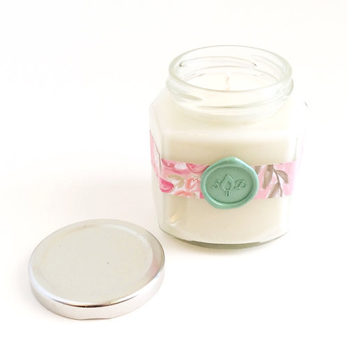 Sea Salt & Orchid Stationery Soy Candle