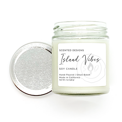Island Vibes Soy Candle
