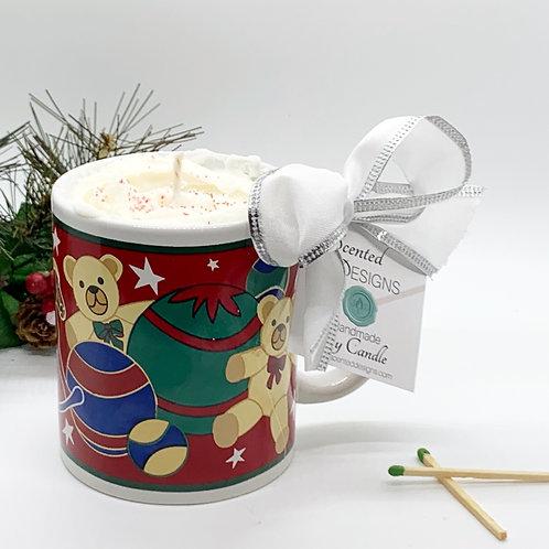 Peppermint Mocha Soy Candle - Xmas Toys Mug