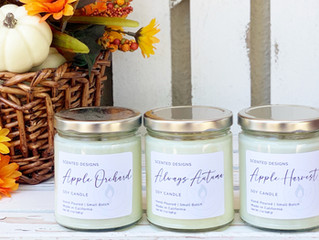 Which Apple Scented Candle Would You Pick?