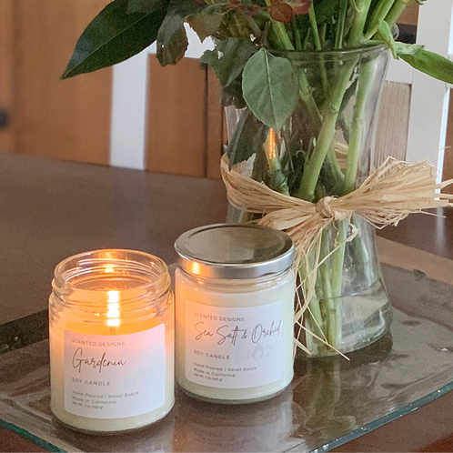 7oz Jar Duo - 2 Scented Soy Candles