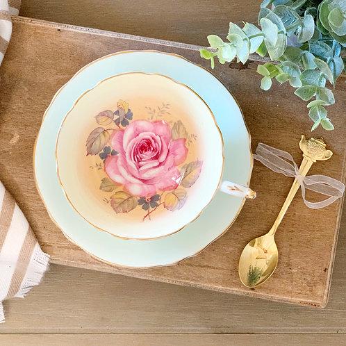 Custom Order: Teacup Candle - Vintage Paragon English Fine Bone China