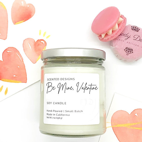 Be Mine, Valentine Soy Candle