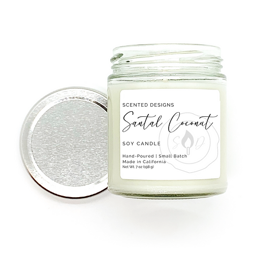 Santal Coconut Soy Candle