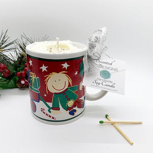 Gingerbread Latte Soy Candle - Kids Mug
