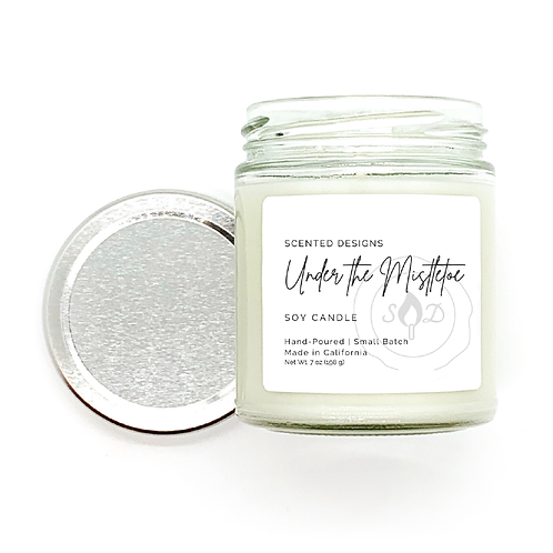 Under the Mistletoe Soy Candle