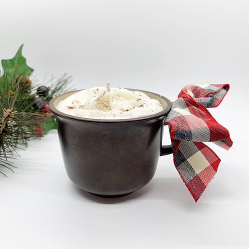 Gingerbread Latte Soy Candle - Brown Mug